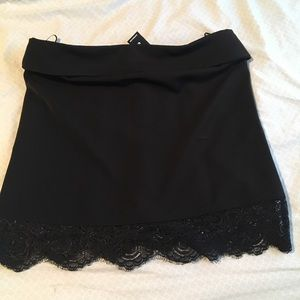 Strapless top from Express New